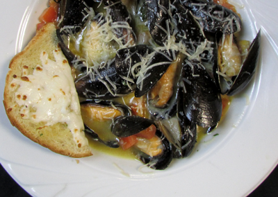 Fresh Mussels Provencal