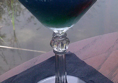 Swamp Water Martini